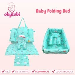Baby Folding Bed Obytobi