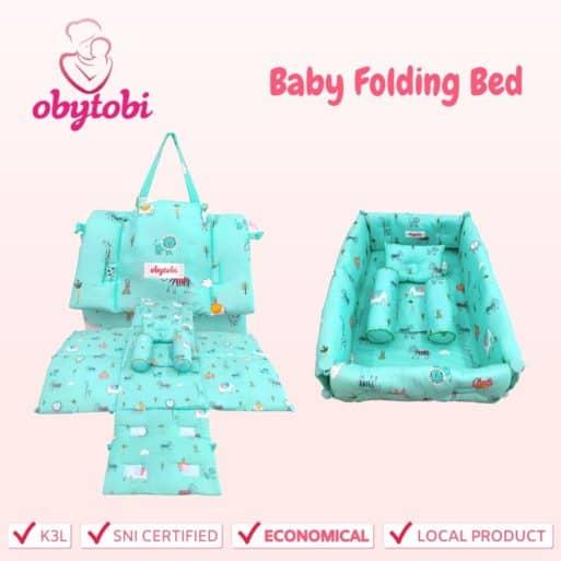 Baby Folding Bed Obytobi