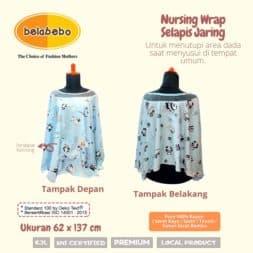 Nursing Wrap Selapis Jaring Belabebo