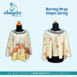 Obayito Nursing Wrap Selapis jaring