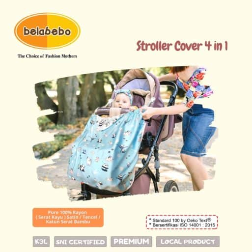 Stroller Cover 4 in 1 Belabebo