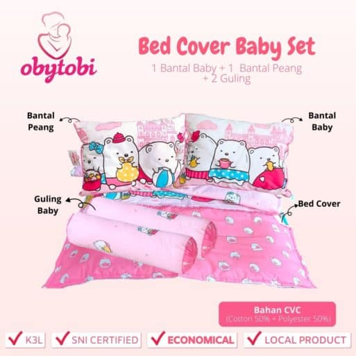 Bed cover baby set 1