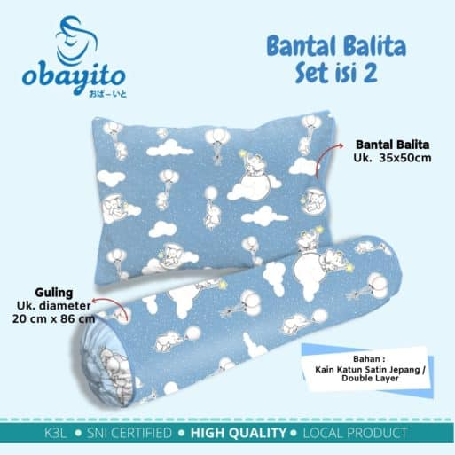 bantal balita set isi 2 1
