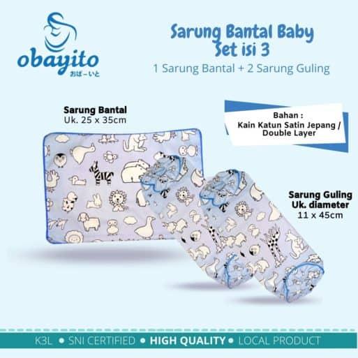 Sarung Bantal Baby set isi 3